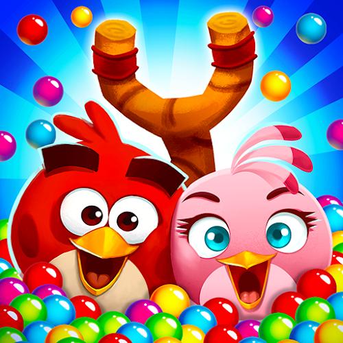 Angry Birds POP Bubble Shooter [Mod Money] 3.86.3 mod