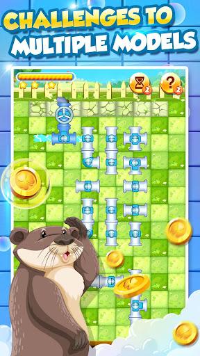 Bathe Hippo - Connect Pipes  screenshots 5