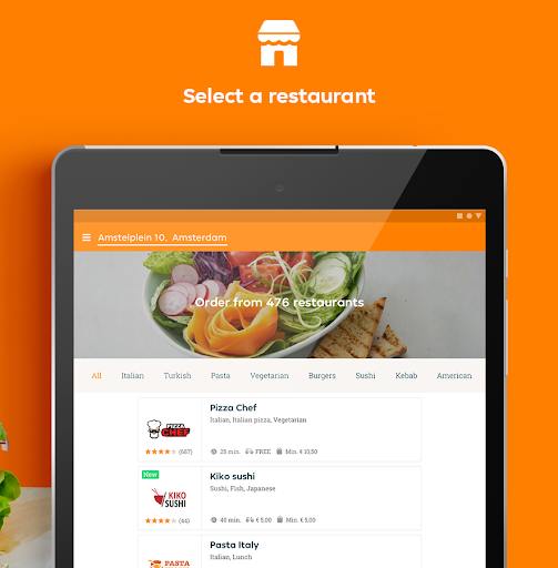 Takeaway.com - Order Food 6.23.3 Screenshots 8