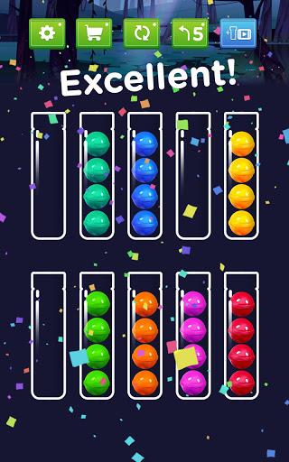 Ball Sort - Color Ball Puzzle & Sort Color 1.1.1 screenshots 8
