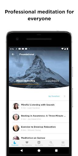 The Mindfulness App: relax, calm, focus and sleep screenshots 6