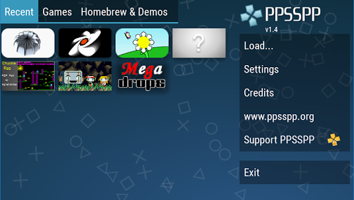PPSSPP - PSP emulator 1.11.3 screenshots 1