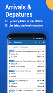 Where is my Train : Indian Railway Train Status 6.6.0 Screenshots 6