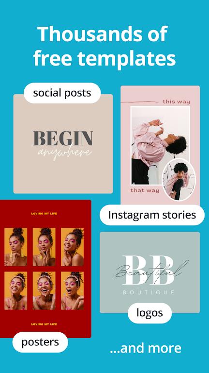 Canva: Design, Photo & Video poster 1