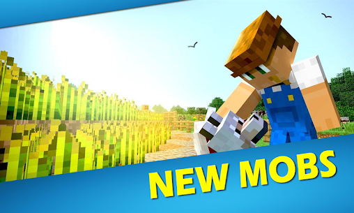 New world mod for MCPE 1.2 (MOD + APK) Download 1