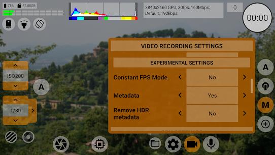 mcpro24fps Apk- professional manual video camera (Paid) 6