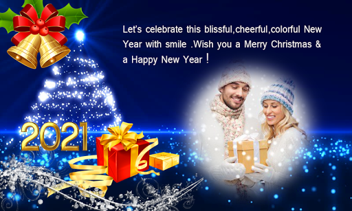 2021 Christmas Greetings Photo Frames 1.0.3 Screenshots 1