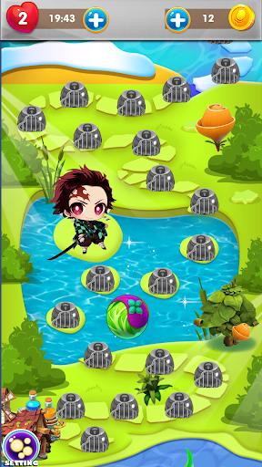 Nezuko Tanjiro Rescue Bubble Shooter 1.9 screenshots 7