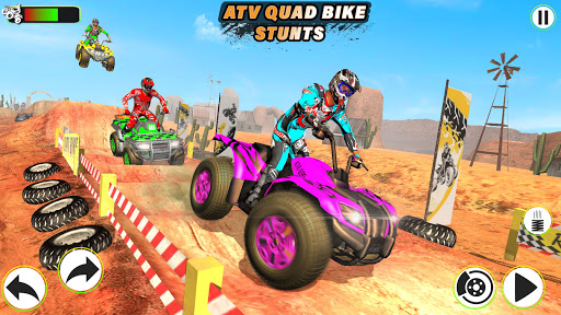 Atv Quad Bike Stunts Racing- New Bike Stunts Game 1.8 screenshots 8