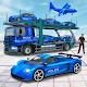 US Police Car Transporter Truck : Plane Transport