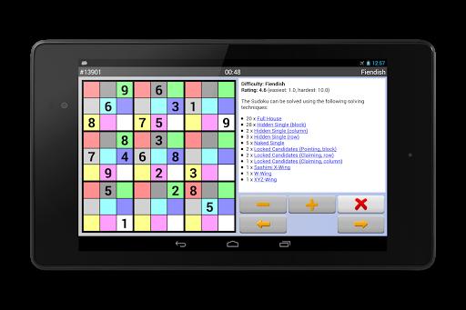 Sudoku 10'000 Free 8.2.1 screenshots 14