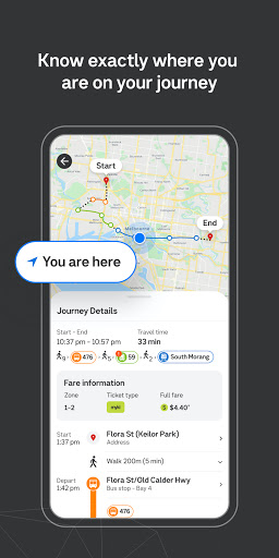 Public Transport Victoria app  Screenshots 6