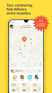 Yandex Go — taxi and delivery 1
