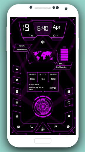 High Style Launcher 2020 - hitech homescreen theme 37.0 Screenshots 14