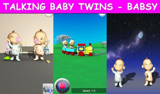 Free Talking Baby Twins – Babsy 2