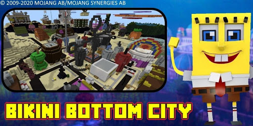 Bikini Bottom City Craft Map 7.0 screenshots 12