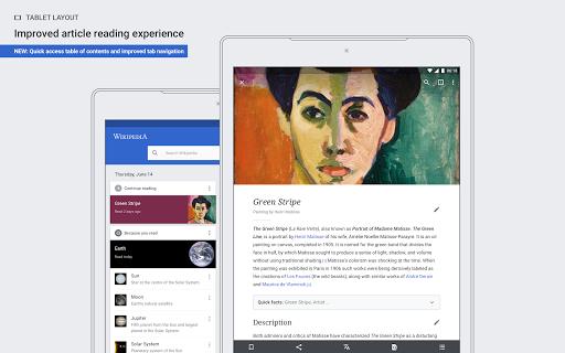 Wikipedia Beta android2mod screenshots 9