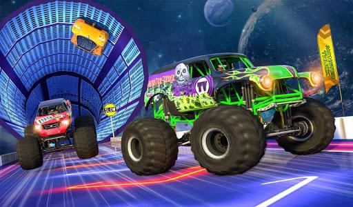 Monster Truck Mega Ramp Stunts Extreme Stunt Games screenshots 14