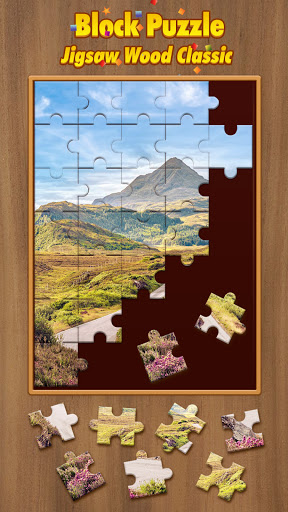 Jigsaw Wood Classic -  Block Puzzle apklade screenshots 1