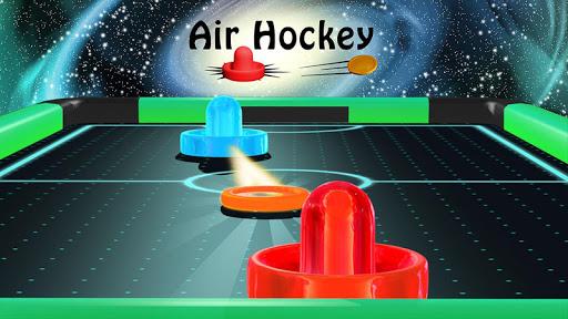 Air Hockey - Ice to Glow Age  screenshots 9