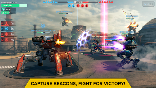 War Robots Mod APK (Unlimited Money/Inactive Bots) 3