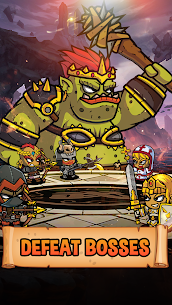 Five Heroes MOD APK: The King's War (Unlimited Money) 3