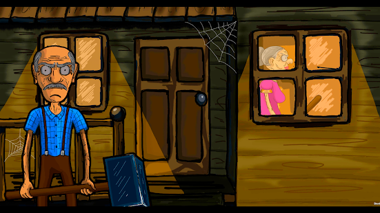 Grandpa And Granny House Escape Screenshot
