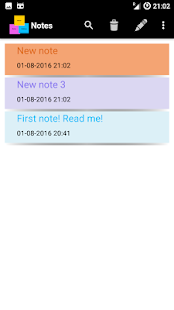 Notes app Android