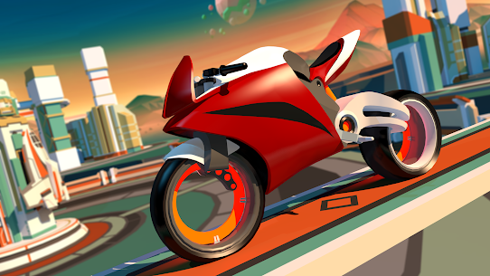 Gravity Rider Mod Apk: Extreme Bike Racing 2