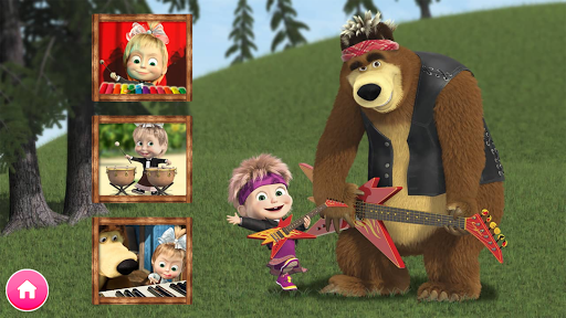 Masha and the Bear. Educational Games 5.5 screenshots 14
