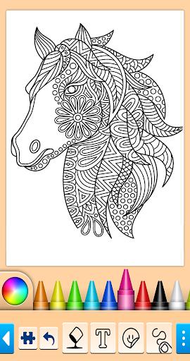 Horse Coloring Book  screenshots 1