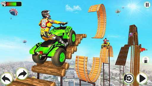 Atv Quad Bike Stunts Racing- New Bike Stunts Game 1.8 screenshots 4