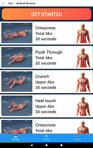Six Pack in 30 Days - Abs Workout 1.5.0 Screenshots 10