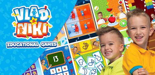 Vlad & Niki. Educational Games .APK Preview 0
