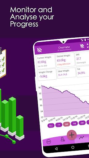 Weight Diary - Weight Loss Tracker, BMI, Body Fat 3.6.0.1 Screenshots 2