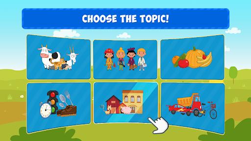 The Blue Tractor: Kids Games  screenshots 3