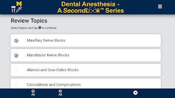 Dental Anesthesia - SecondLook