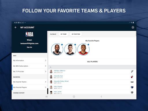 NBA: Live Games & Scores screenshots 15