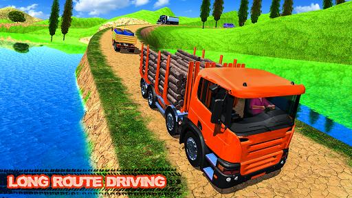 offroad transport truck simulator:truck drive 2019 screenshot 1