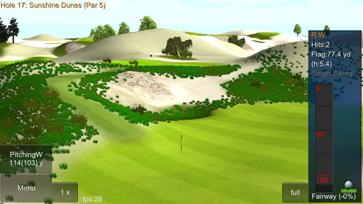 iron 7 one golf game lite screenshot 3