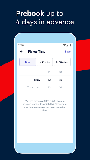 FREE NOW (mytaxi) - Taxi Booking App 10.41.0 Screenshots 6