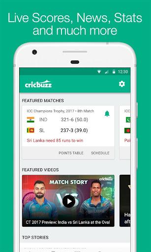 Cricbuzz - Live Cricket Scores & News screen 0