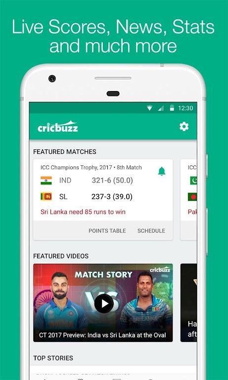 Cricbuzz - Live Cricket Scores & News  poster 0