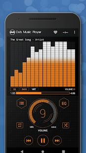 Dub Music Player - Free Audio Player, Equalizer 🎧 Screenshot