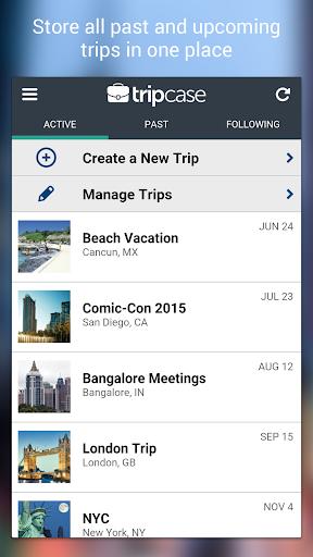 TripCase u2013 Travel Organizer screenshots 3