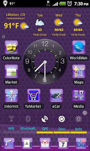 LC Purple Theme For For Pc – Free Download For Windows And Mac 1