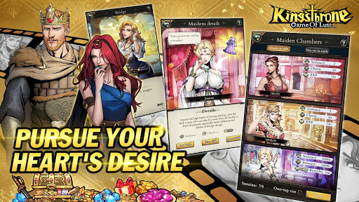 King's Throne: Game of Lust 1.3.61 Paidproapk.com 2