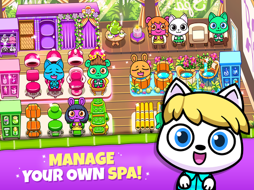 Forest Folks - Your Own Adorable Pet Spa screenshots 11