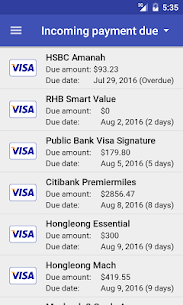 Credit Card Manager Pro APK 5
