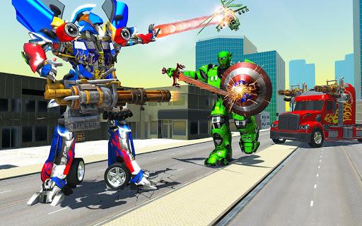 US Police Robot Transform Truck 1.9 screenshots 3